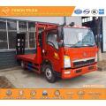 SINOTRUK Euro3 115hp excavator transportation truck