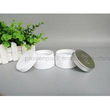 Lata branca do animal de estimação para a embalagem cosmética do creme (PPC-76)
