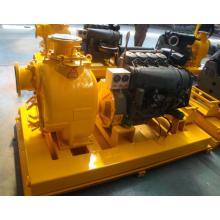 स्किड माउंट प्रकार ट्रैश डीजल इंजन सेल्फ प्राइमिंग यूनिट पंप सेट