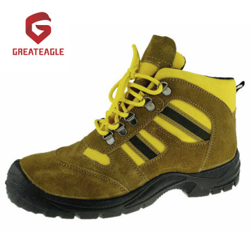 Sepatu Safety Toecap Suede Leather Steel