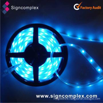 China SMD5050 PU Glue Potted 12/24V RGBW Flexible LED Strip
