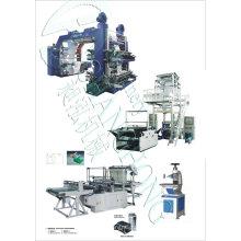 Высокоскоростная четырехцветная печатная машина для футболок (CE)
