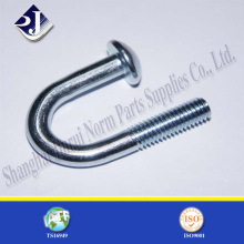 Round Head U Bolt with Zinc