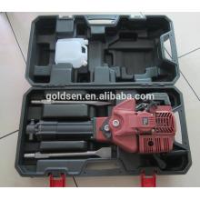 1700w 2.4HP 52cc Профессиональный Бензиновый Привод Молота Разрушения Молота Маленькие Портативные Бензиновые Каменные Дробилки