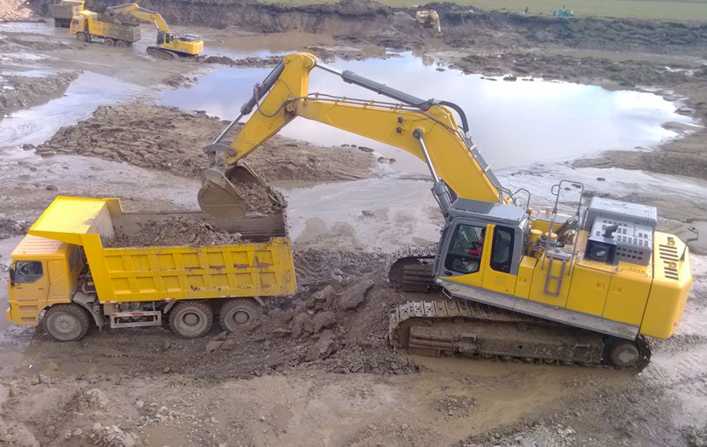 Construction Crawler Excavator
