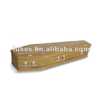 Cercueil en bois de funérailles