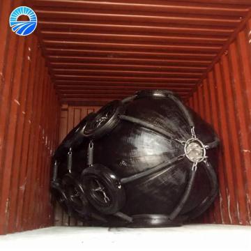 Defensa de goma inflable de la defensa de la nave del muelle