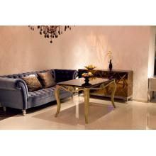 Table de salle à manger d'hôtel de luxe