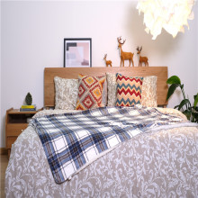 Double Brushed Bedding Sheet Set Microfiber Bed Blanket