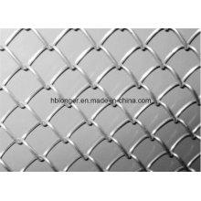 Cercado galvanizado en caliente de la malla de alambre del acoplamiento de cadena / malla de alambre del diamante