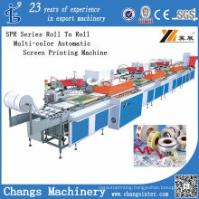 Spr Series Roll to Roll Muti-Color Automatic Screen Printing Machine