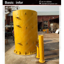 JIAHUI grande capacidade de tanques de armazenamento de produtos químicos FRP