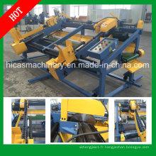 Machine de découpe à palettes en bois Sf602 Double End Trim Saw