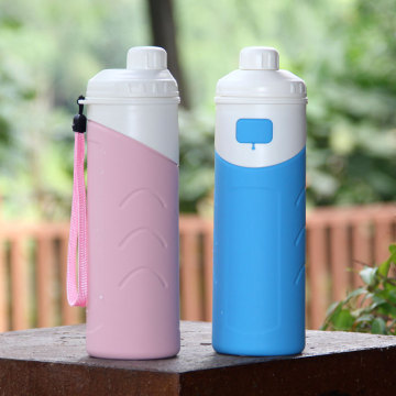 Durable+Keep+Cold+Insulate+Silicone+Water+Bottle