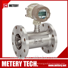 nitrogen flow meter with totalizer