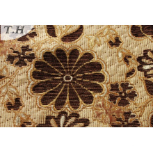 Jacquard Upholstery Sofa Fabric by Brown Color