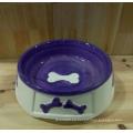 Tazón de cerámica caliente del animal doméstico de la buena calidad de la venta 2016 Hainao