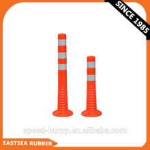 Road Safety Warning PE PU EVA Flexible Traffic Delineator Post With Reflective Tape,alibaba sign in