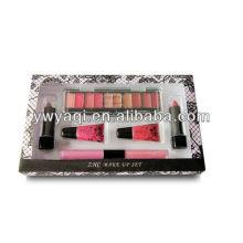 Косметический набор T143 сделать вверх набор для Lipglossl девушка, теней и помады