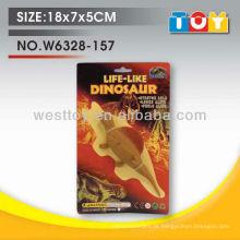 Animal de dinossauro de plástico para cães