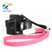Heißer Verkauf Baumwolle Material Rose rot Und Weiß Baumwolle Kamera Strap