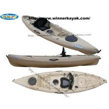 Recreativo Sit en Top Kayak de Pesca de plástico