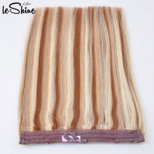 Charming P4#27#613 Color 2016 New Popular Products Piano Color Double Drawn Human Halo Hair