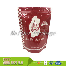 Customized Laminated Material Blend Coffee Packaging Bag / Reusable Plastic Biodegradable Valve Coffee Bags