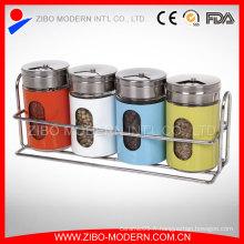 Ensemble de secoueurs de sel et de poivre en acier inoxydable