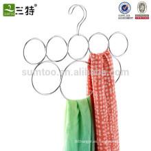 gancho de bufanda de bucle de metal