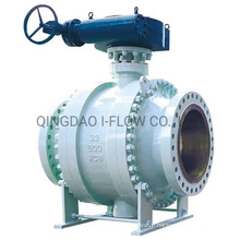 Industrial Trunnion Mounted 3PC Ball Valve Full Port Reduced Port Cl150-Cl2500