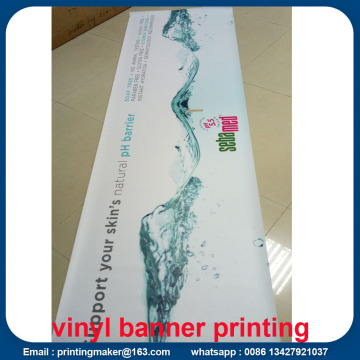 PVC Vinyl Banner UV Printing dengan Double Stitched
