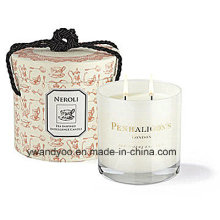 Scented Gift Candle in Glass Jar with Gift Box