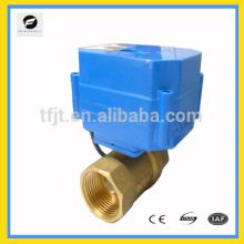 El DC9-12V 4wires controla la válvula de motor motorizada de 2 vías, la bobina de ventilador y el sistema de ciclo de agua caliente