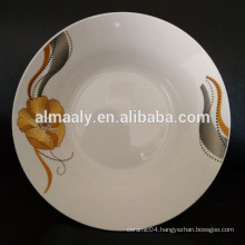 ceramic soup plate with simple design