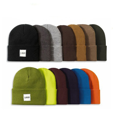 Custom Wholesale Slouch Knitted Beanies