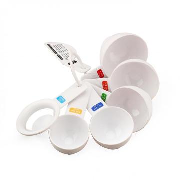 6-Piece Plastic Measuring Spoon Set