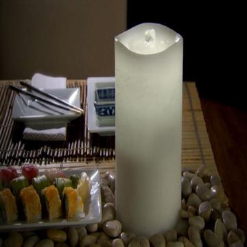 نافورة تحديثية الصمام شمعة خفيفة مع جهاز ضبط الوقت