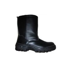 Schwarze PU-Injektions-Outsole-Sicherheits-Arbeitskraft-Schuhe