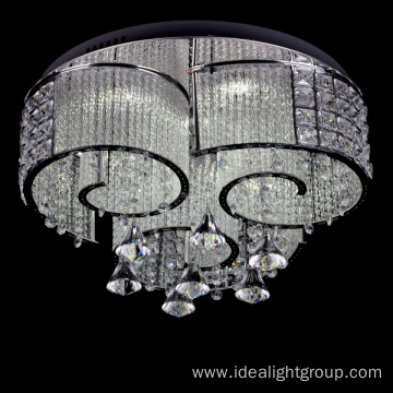 chrome luxury chandelier led home decorative kids lamps