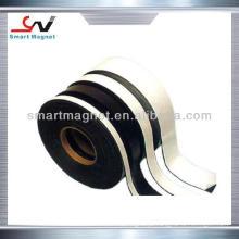 Fita magnética de borracha permanente flexível auto-adesiva