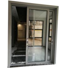Hot sale cheap aluminium sliding door With mosquito net