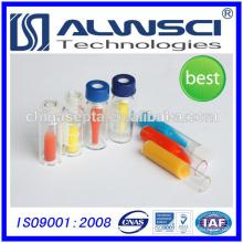 Inserções de frasco de vidro de 6mm