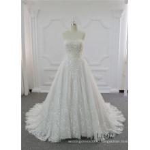 Сексуальный Цвета Слоновой Кости Свадебное Платье Бальное Платье Кружева Свадебные Платья