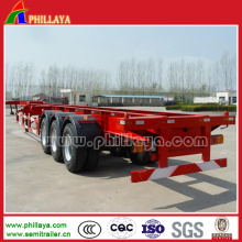 3 Axles 20FT Skeleton Trailer for Container Transportation