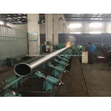 Tubulação de aço sem costura A106B A53 do carbono laminado a alta temperatura
