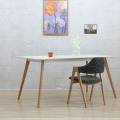 Eames DSW Style White Rectangular Dining Table