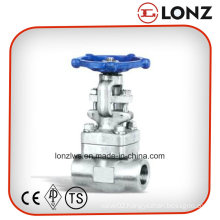 ANSI Stainless Steel NPT Thread Forged Steel Gate Valve