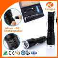 Outdoor LED CREE Powerful Camping Professional Tactical Search and Hunting Safety Emergency Torch with High Lumen