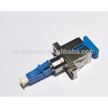 Бесплатный образец непосредственно купить Китай lc женский sc мужской адаптер волокна, пластик металла LC Sc адаптер оптоволоконный с дешевой цене